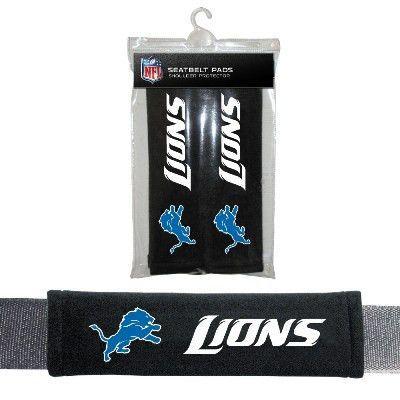 Seat Belt Cover - Detroit Lions