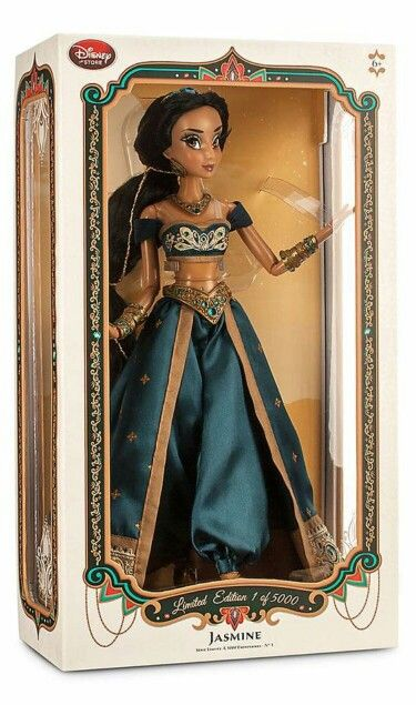 Jasmine LE 17 doll with box HQ