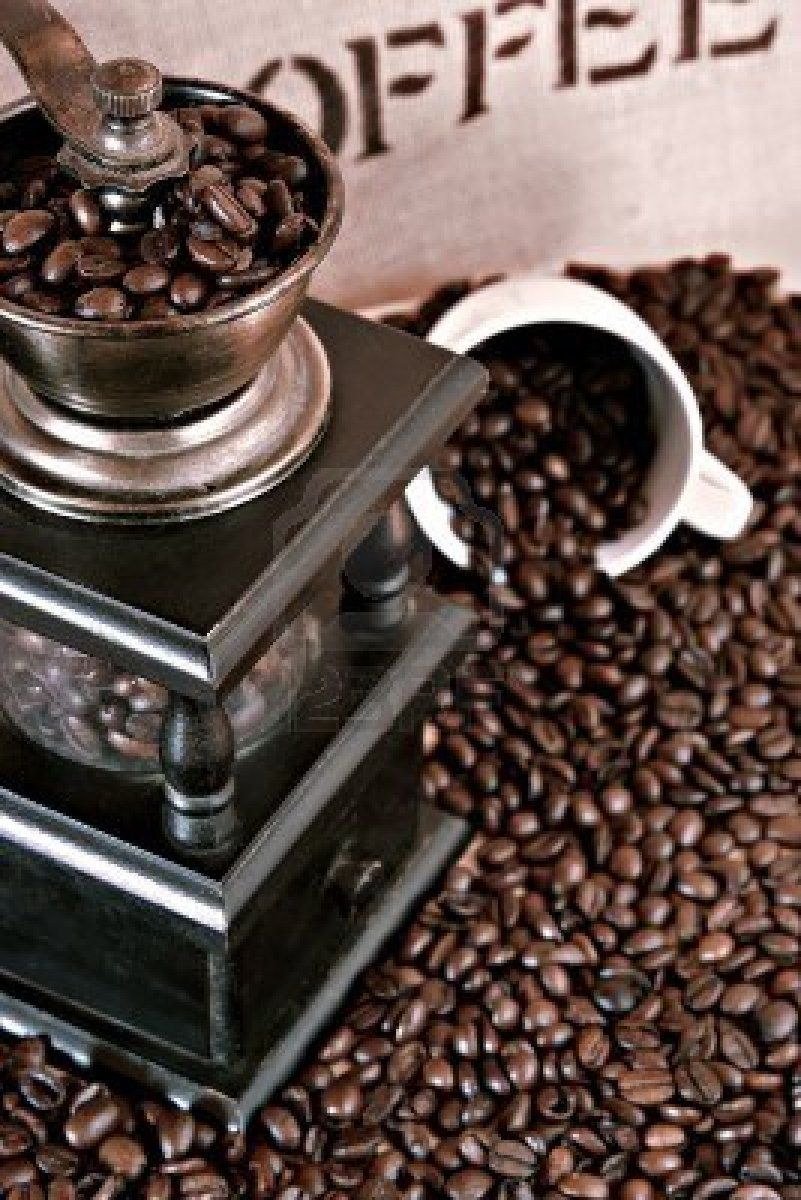 For the freshest coffee, it is best to grind your beans at home.