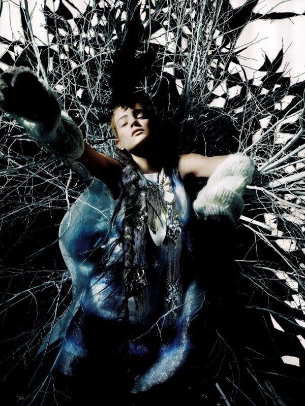 Nick Knight's Artistic Fashion Photography.