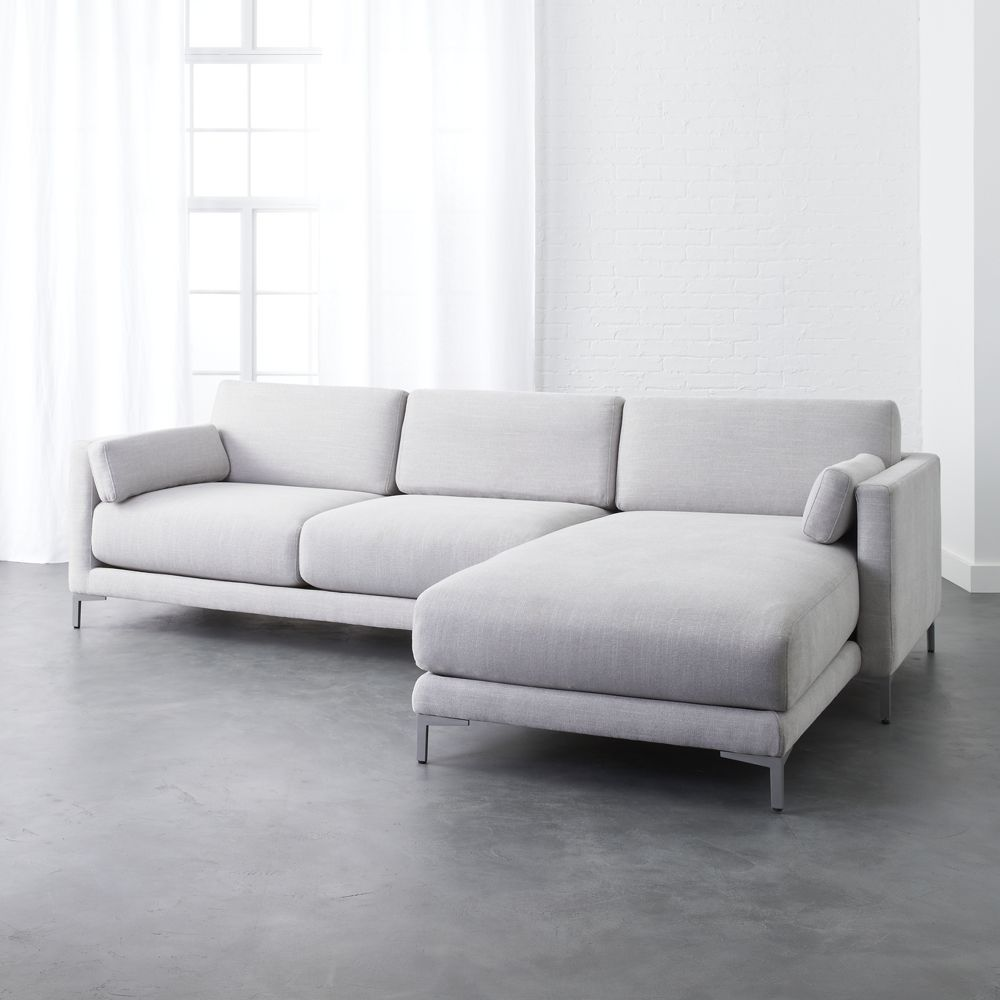 Awe Inspiring District Dove 2 Piece Sectional Sofa Products In 2019 Short Links Chair Design For Home Short Linksinfo