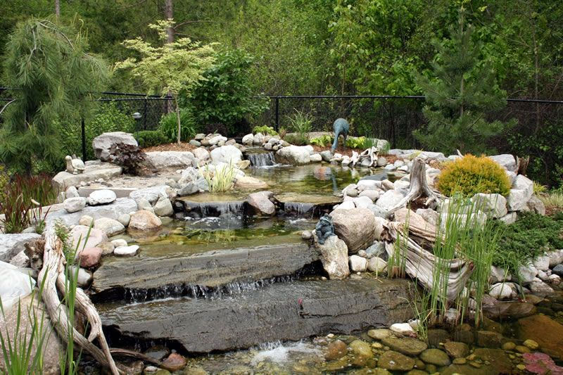 landscape water features Water Features Gallery Landscape Ponds