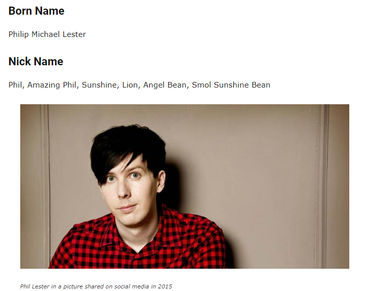 Yes That S Right Phil Lester Is Actually A Smol Sunshine Bean 3 Phil Lester Dan And Phil Phil