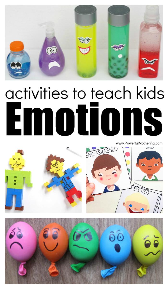 Activities To Teach Kids Emotions | Emotions preschool ...