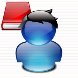 Student Icon Pendidikan Kartu Buku
