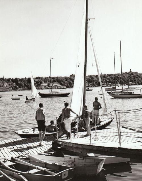 lazyjacks:  Sailing on the North West Arm...