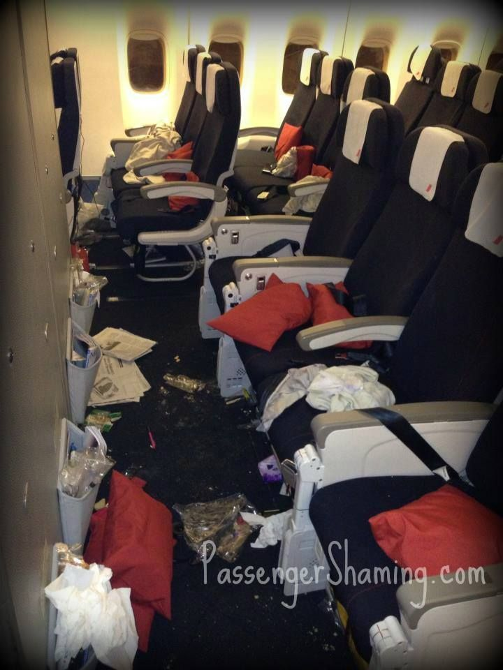 How Dirty Does A Plane Have To Be Before Staff Take Action