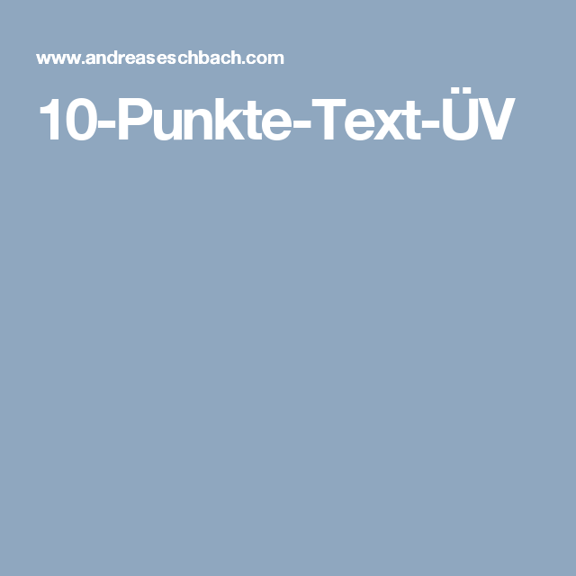 10-Punkte-Text-ÜV