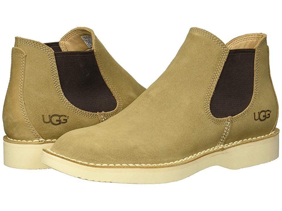 Ugg Camino Chelsea Boot Dark Tan Men S Pull On Boots