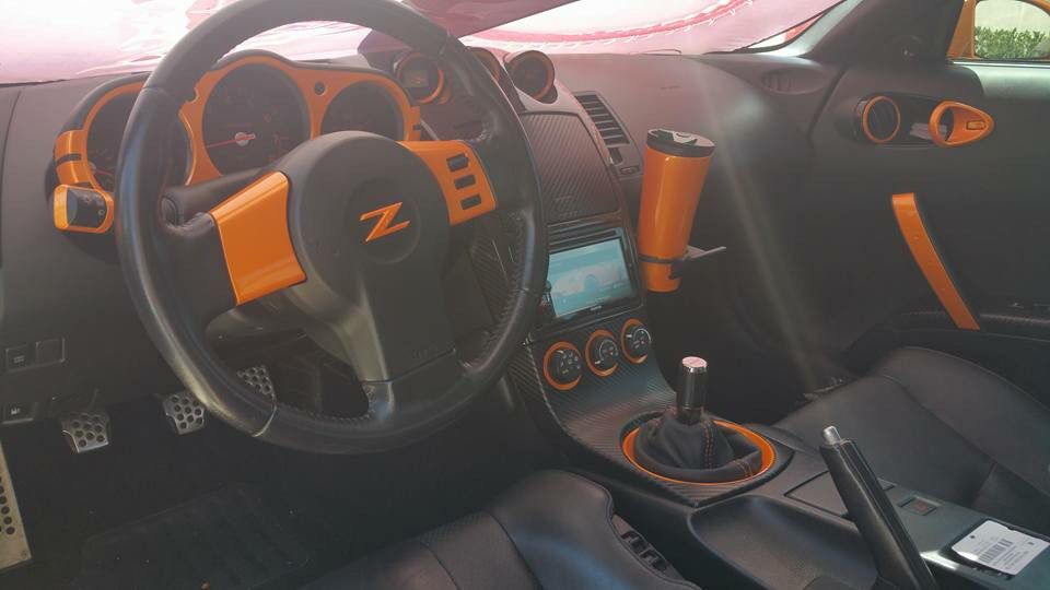 Nissan 350z Interior Mod