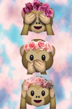 Buy Hula Monkeys Emoji Design By Rad Merch As A IPhone Case Skin Wallet Samsung Galaxy Throw Pillow Or Tote Bag