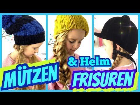 3 Einfache Mützen Helm Frisuren Coole Mädchen Zöpfe Frisuren