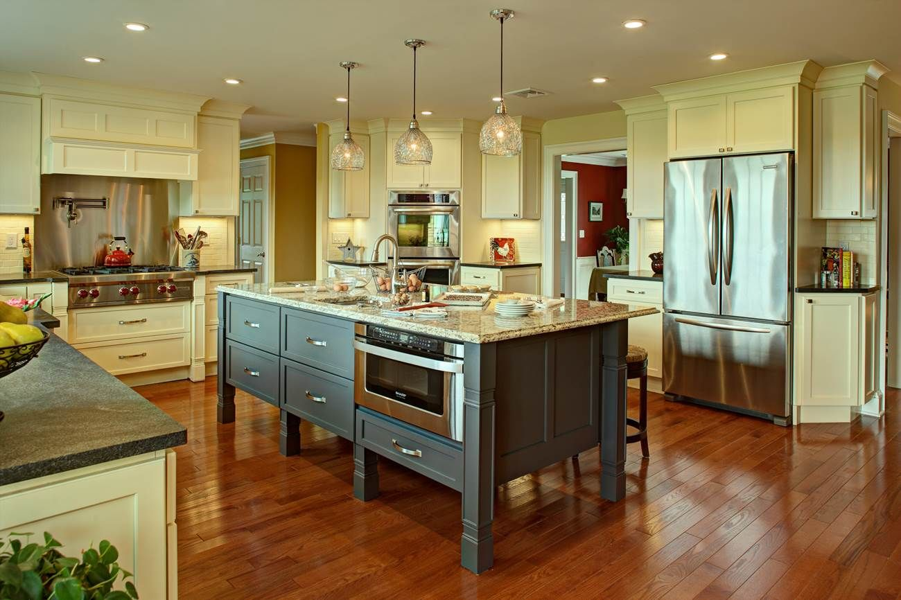 Amazing Farmhouse Kitchen With A Future 2014 NKBA Design Competition Finalist