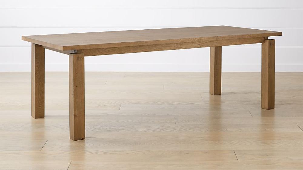 Walker Fog 92 Dining Table Natural Wood Dining Table Furniture