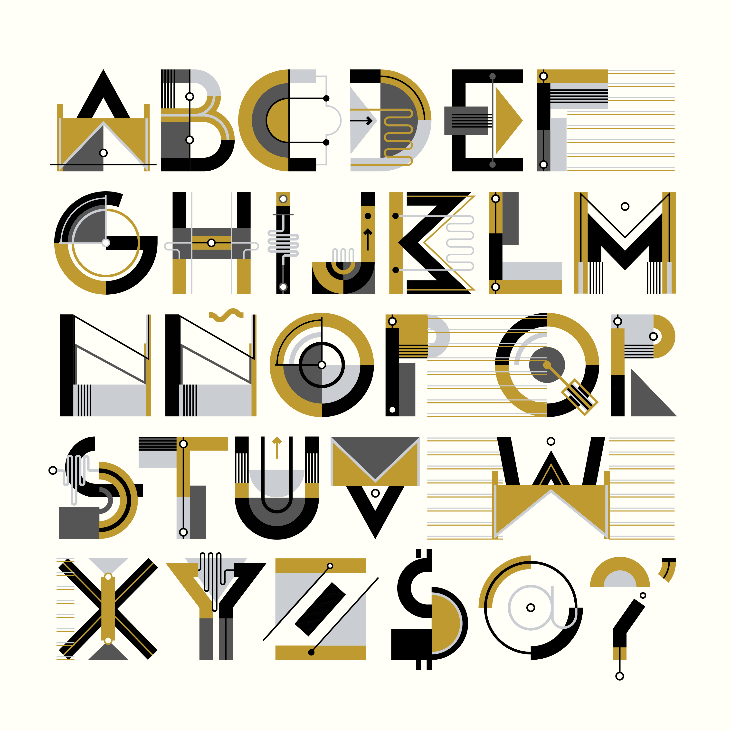 Máquina is a collaborative typeface based on the lettering