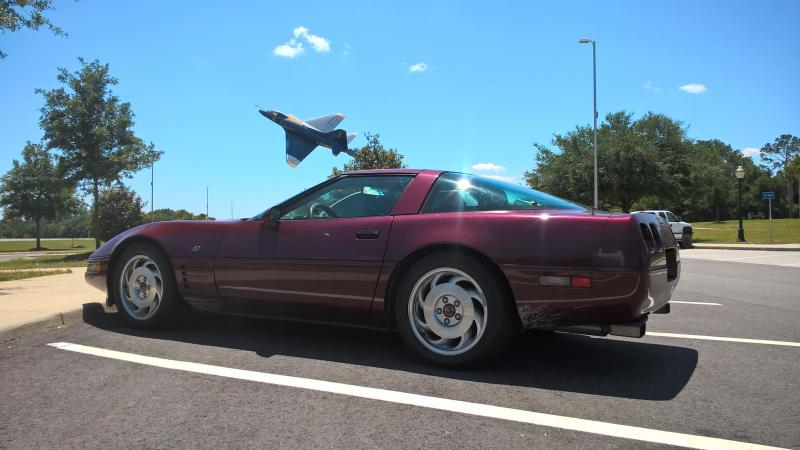 1993 Corvette Coupe For Sale In Florida Well Kept 40th Anniversary Edition Coupe Chevy Corvette For Sale Corvette Corvette For Sale