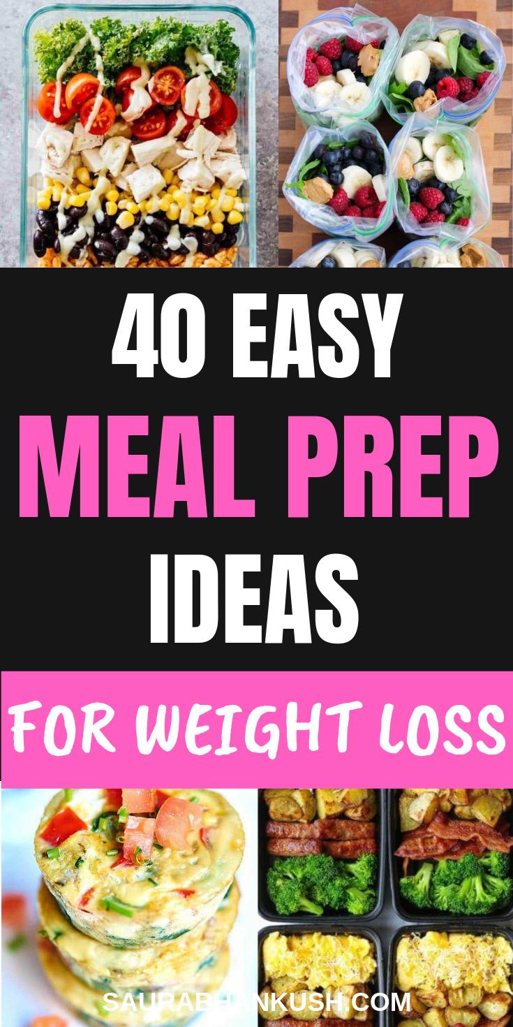 40+ Healthy Meal Prep Ideas to Simplify Your Life - SaurabhAnkush
