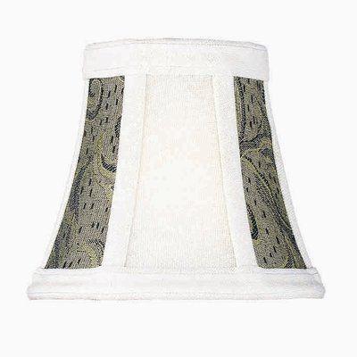 Winston Porter 5 Jacquard Fabric Bell Candelabra Shade Shades Light Shades Rectangular Lamp Shades