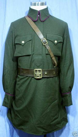 0aabc1867 WW2 Red Army M35 Officer Tunic - WW2 Soviet Uniforms | Soviet ...