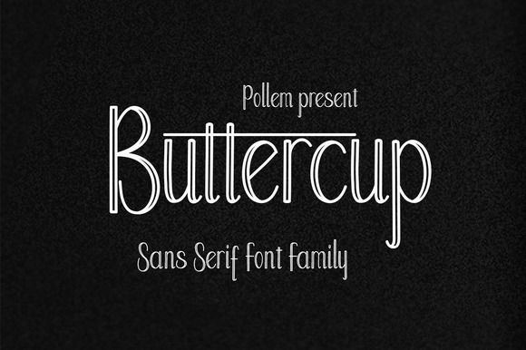 Buttercup font family font family fonts and creative fonts