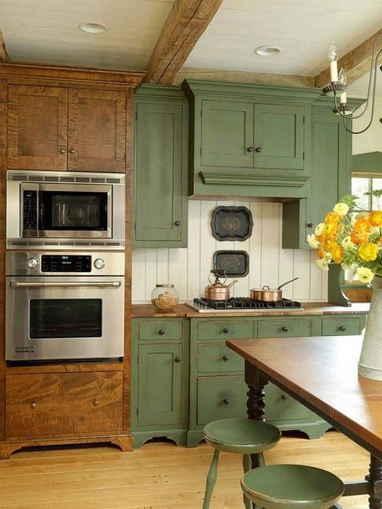 110 comfortable and elegant farmhouse kitchen cabinets ideas with images small kitchen on farmhouse kitchen cabinets id=96784