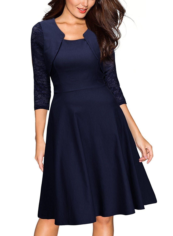 miusol damen abendkleid elegant cocktailkleid vintag kleider