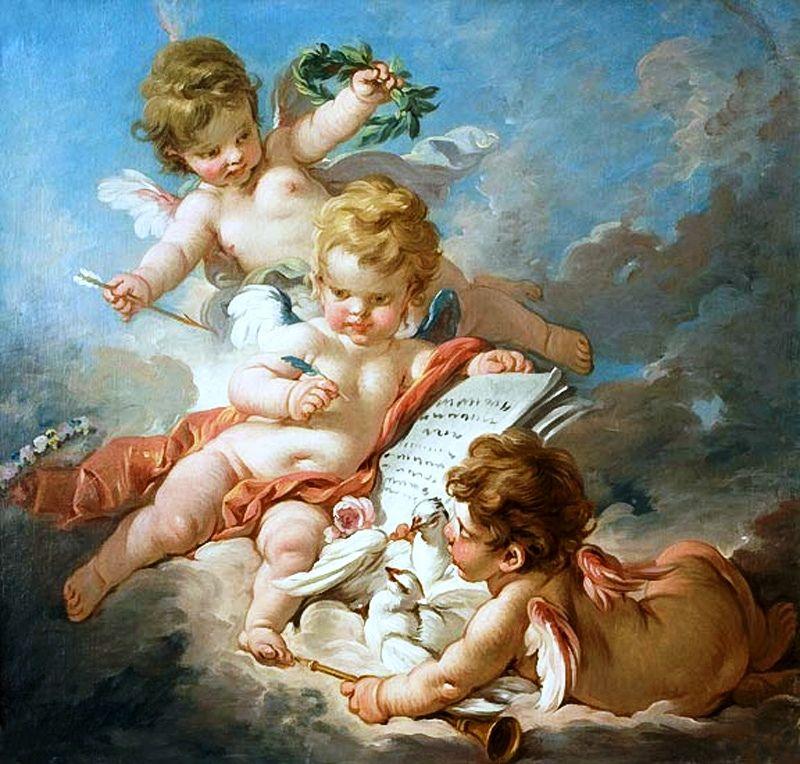один картинки античные ангелочки истории записаны факты