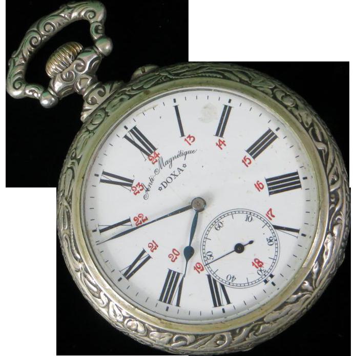 7925725b8c5 Doxa Swiss Goliath Pocket Watch