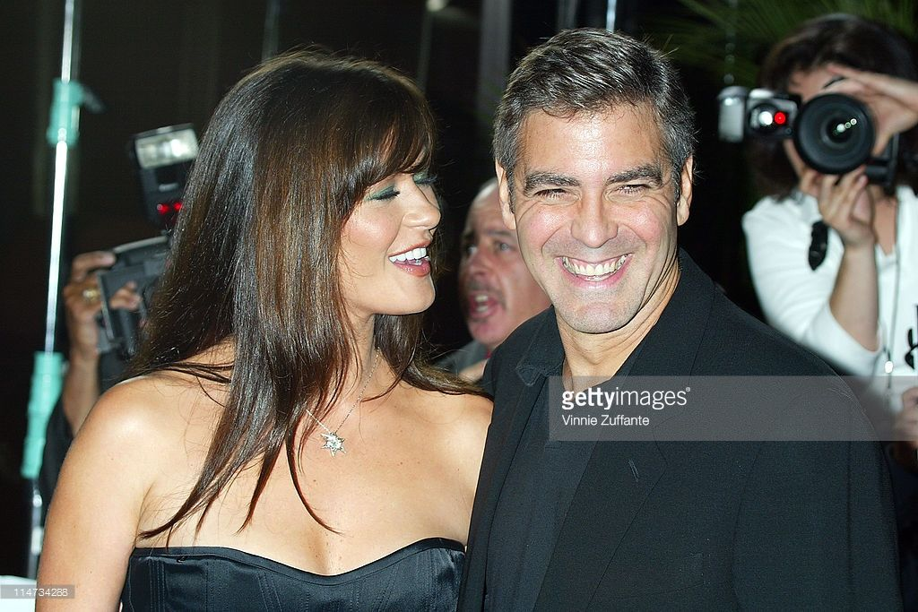 Catherine Zeta Jones And George Clooney Attending The Premiere Of Catherine Zeta Jones George Clooney Catherine