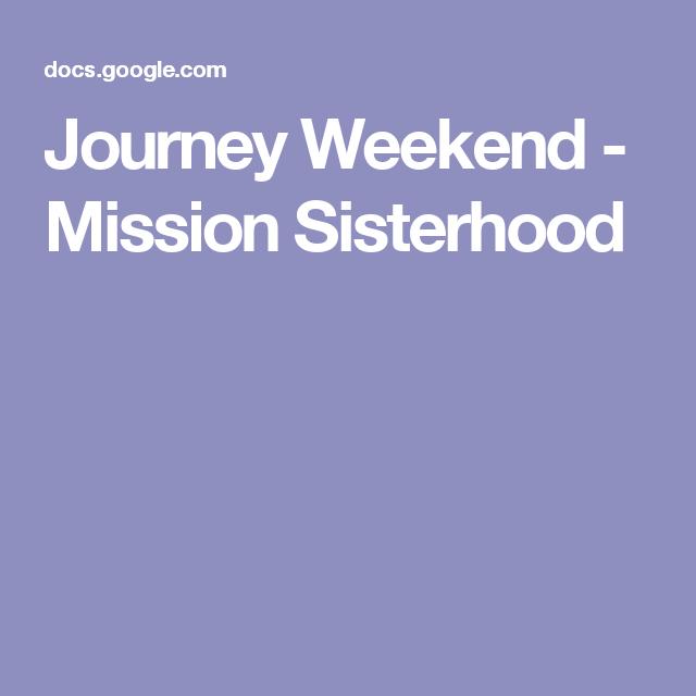 Girl Scout Mission Sisterhood Journey Award