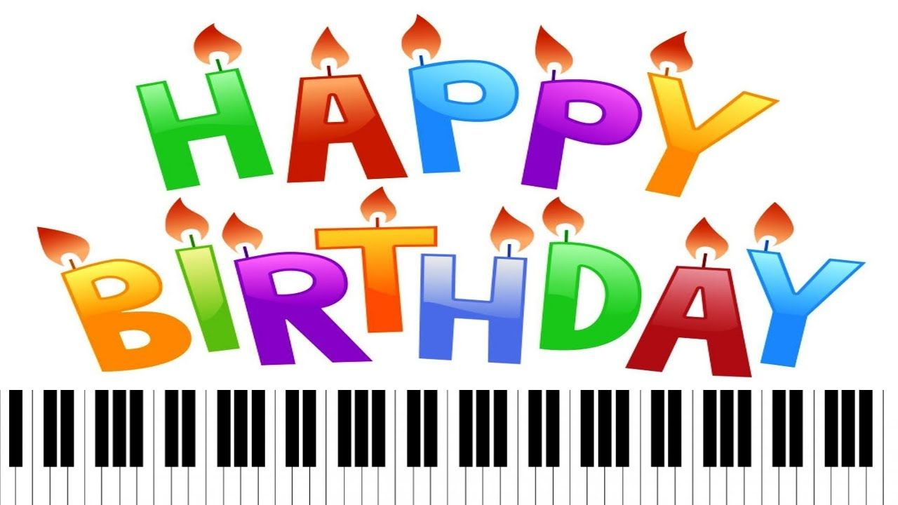 Happy Birthday ~ Piano Letter Notes