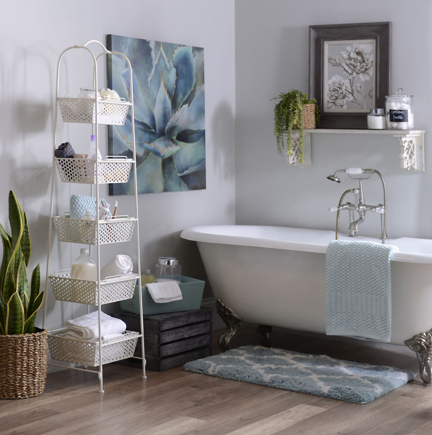 Shop Bathroom Decor: If There's One Room That Needs To Be Organized And Clean