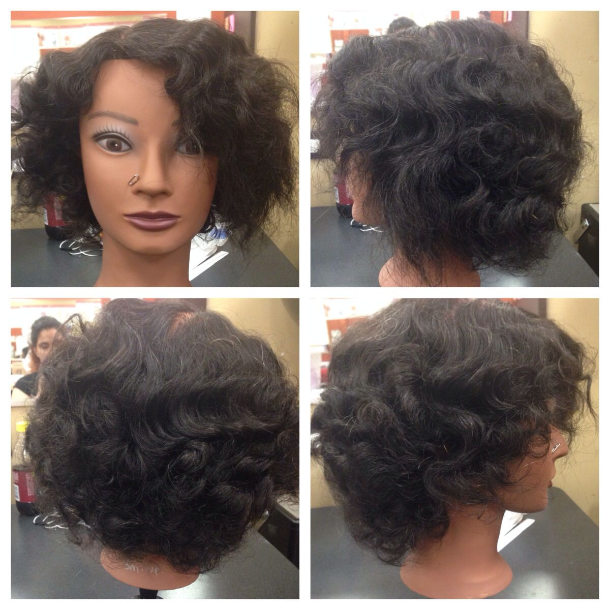 Fun with perm rods Perm rods, Hair styles, Perm