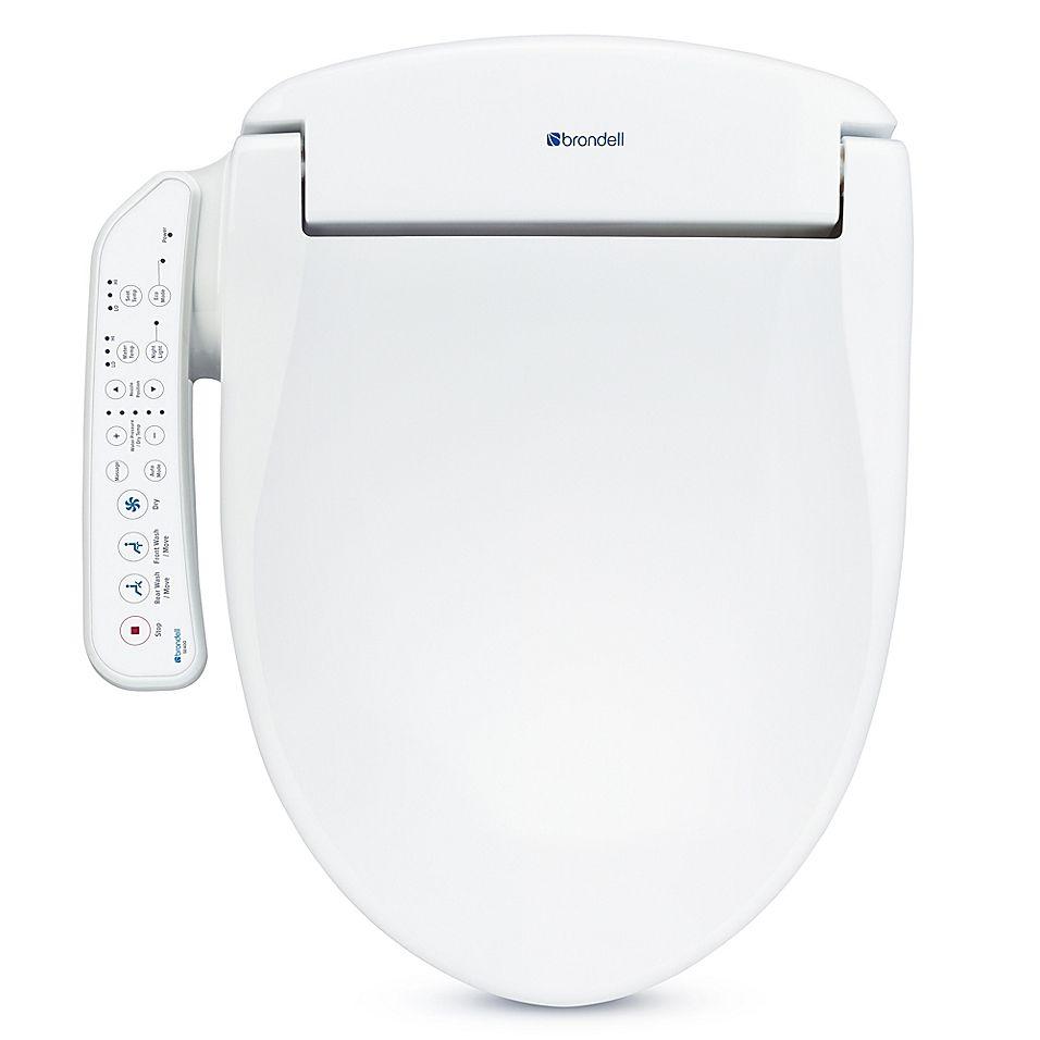 Swash Se400 Round Bidet Toilet Seat In White Bidet Toilet Seat