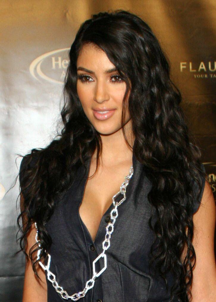 how to get kim kardashian waves