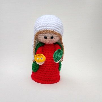 Amigurumi Santa Claus Free Crochet Pattern - Amigurumi Free ... | 360x360