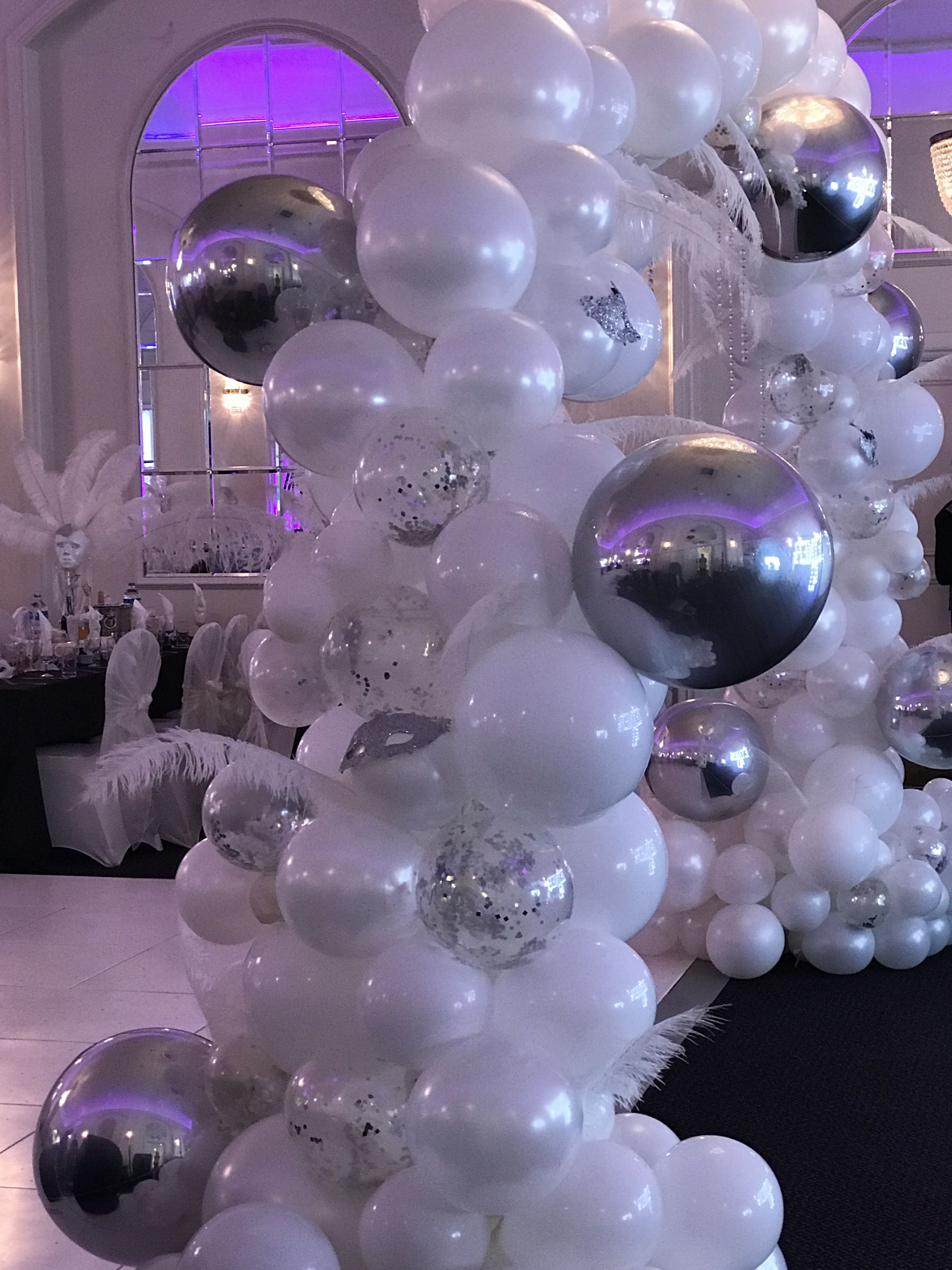 Nice Colors Balloon Party Ideas Decorations Arrangements Troll