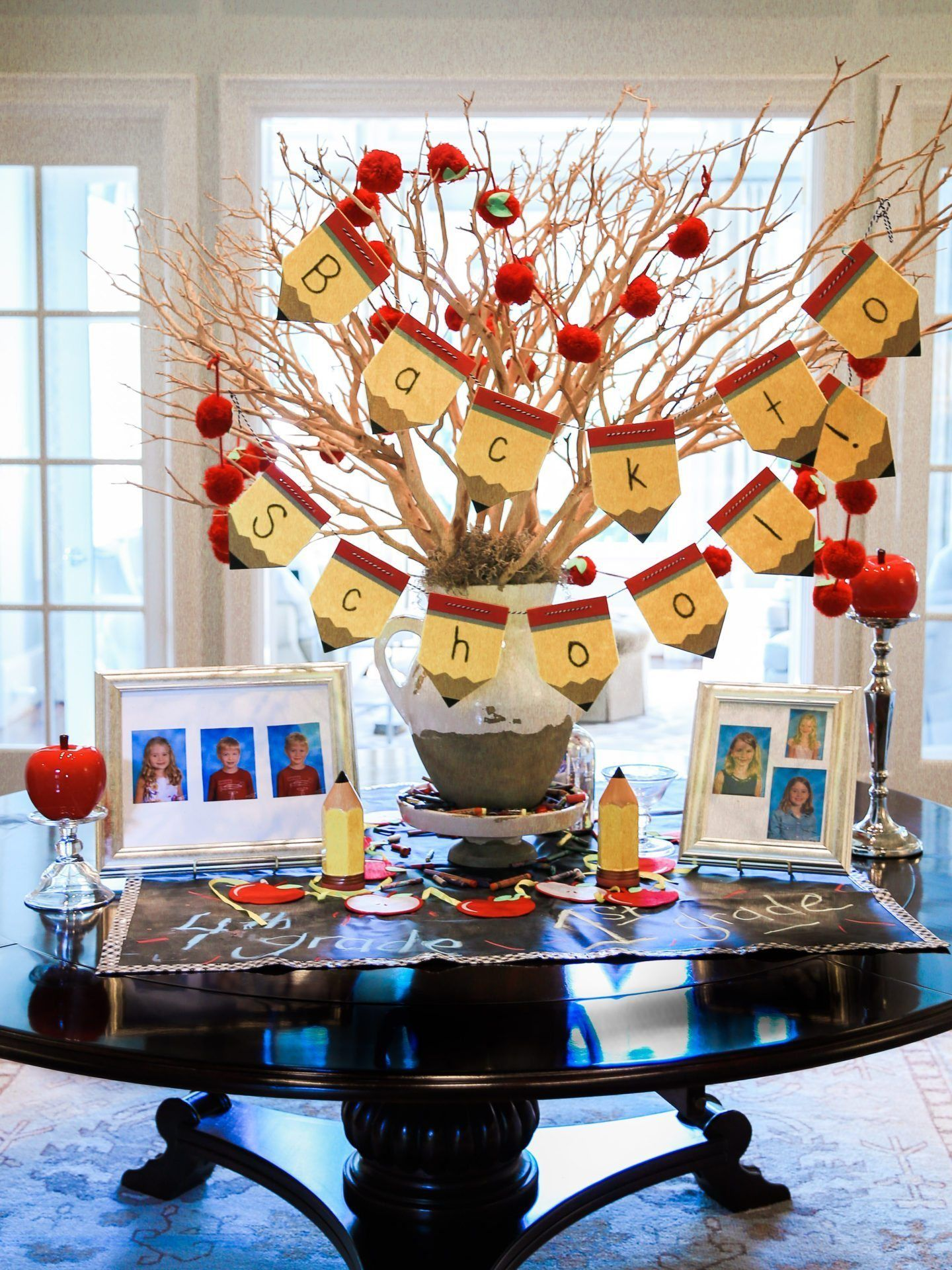 How to use Classroom Theme Decor to Celebrate | School centerpieces, Classroom themes, School ...