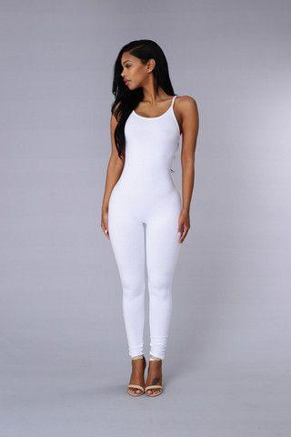 Nova Season Jumpsuit - White | Clothing Goals | Pinterest ...