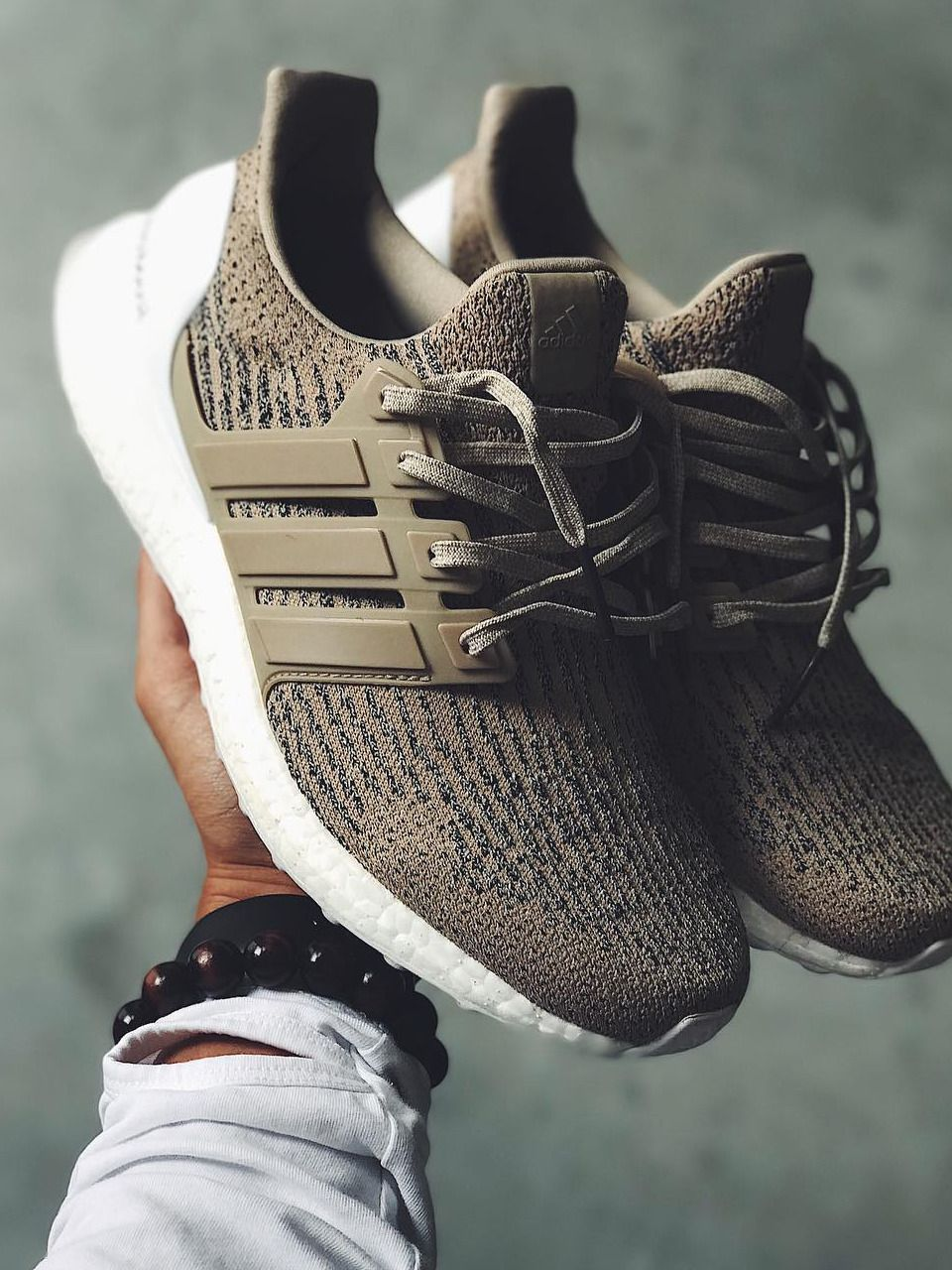 reputable site 9625b 83574 Adidas Ultra Boost 3.0 - Trace Khaki sample (by... – Sweetsoles – Sneakers,  kicks and trainers. On feet.