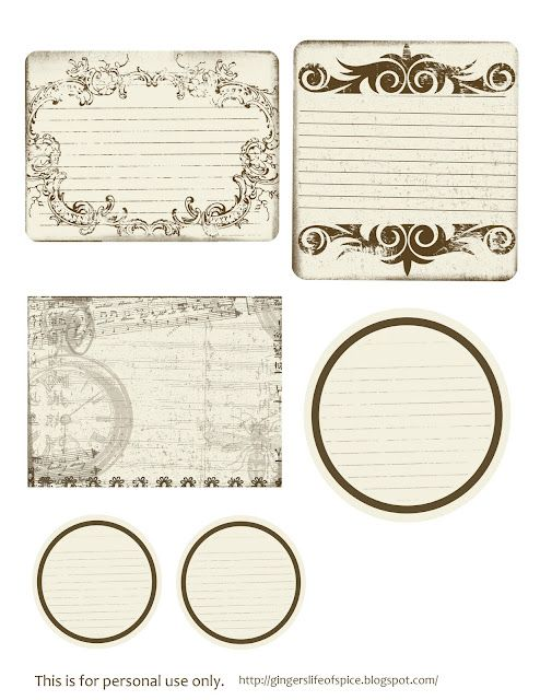 picture relating to Printable Vintage Labels identified as Cost-free Printable Basic Tags Do it yourself Craft : No cost Printable
