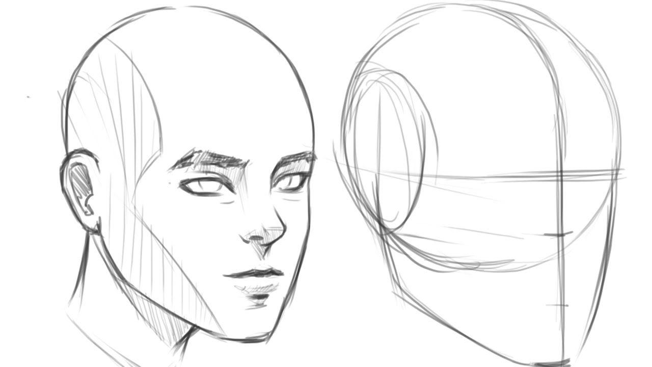 Pildiotsingu 3 4 View Face Tulemus Drawing Tutorial Face Human Drawing Human Face Drawing