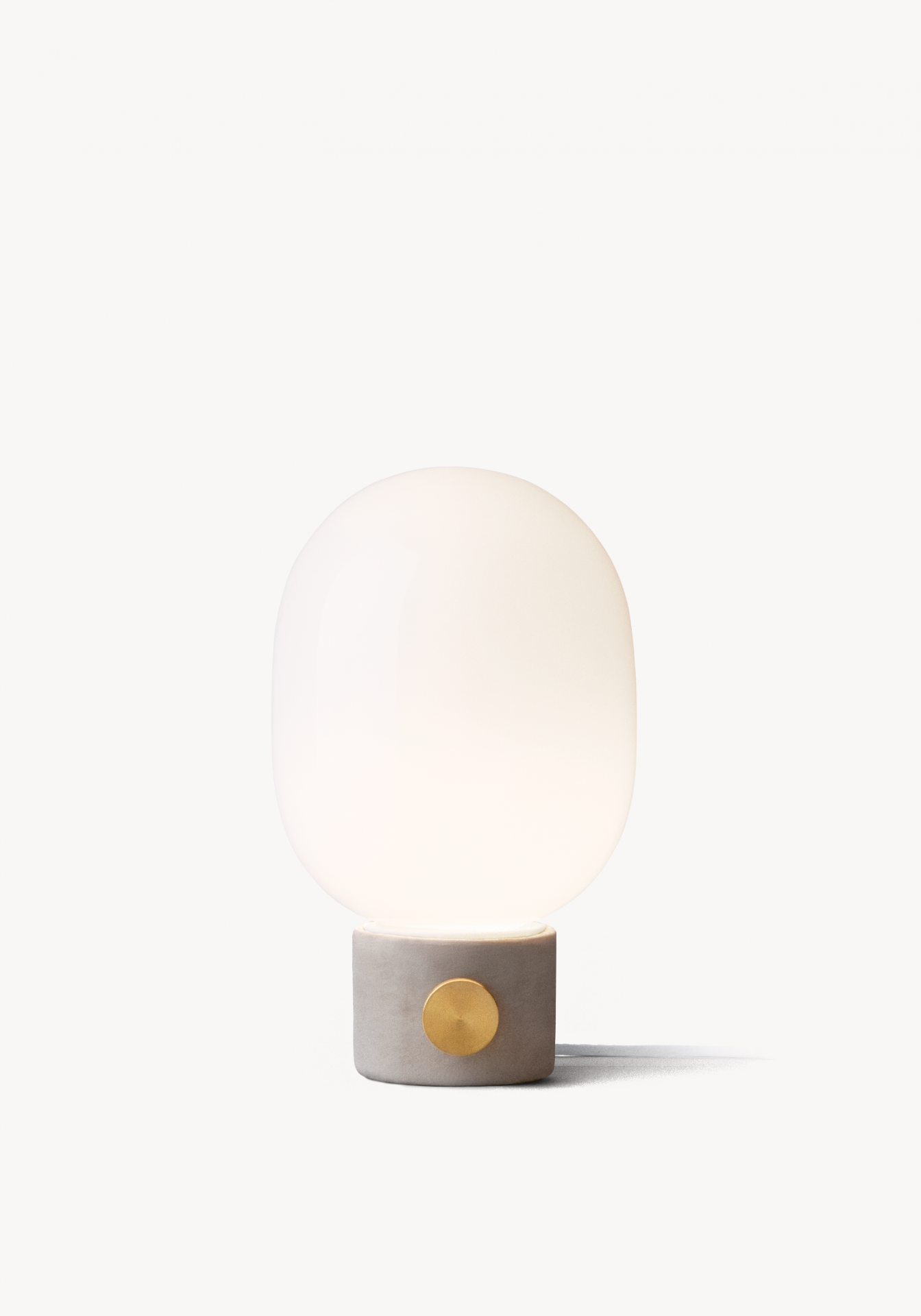 Honest Materials U2013 Concrete And Brass U2013 Are Transformed Into A Lamp Of  Beauty By Stockholm