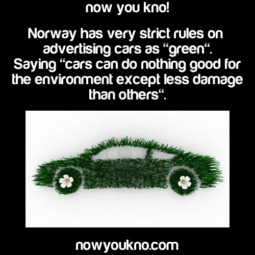 """green"" cars"