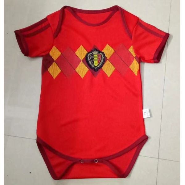 Belgium 2018 World Cup Home Infant Cheap Football Shirt Soccer Jersey For  Baby kids   nice quality f1c6bc68a