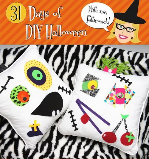 DIY Halloween  DIY Halloween - Cute Critter Pillows DIY Halloween - halloween cute decorations