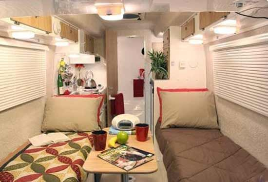 Camper Interior Layout