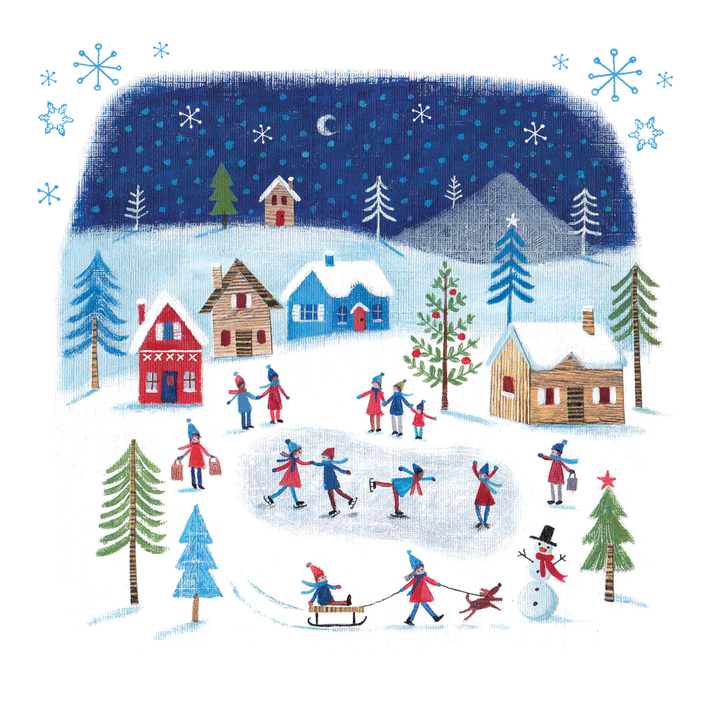 Winters Tale Christmas Card Free Greetings Island Christmas Cards Free Custom Christmas Cards Christmas Cards