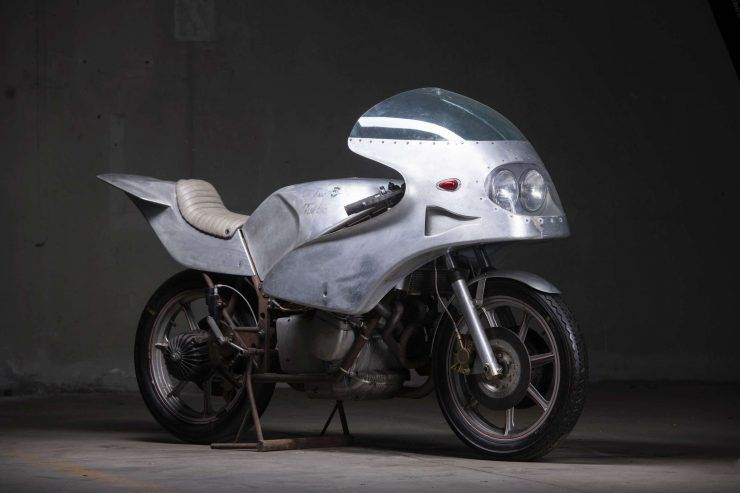 The Mv Agusta 750 Twin Turbo Prototype 150 Hp And 186 Mph Claimed Mv Agusta Twin Turbo Custom Bikes