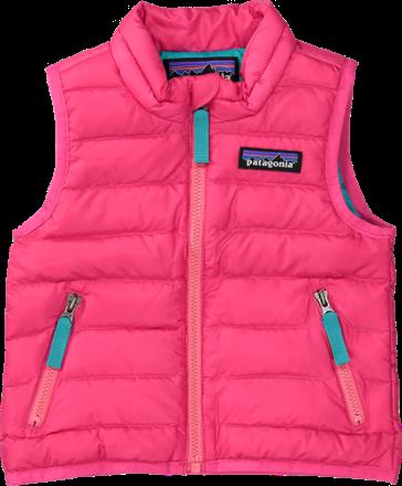 6e0b3b045 Patagonia Girl's Down Sweater Vest - Infant Girls' Magic Pink 6 ...